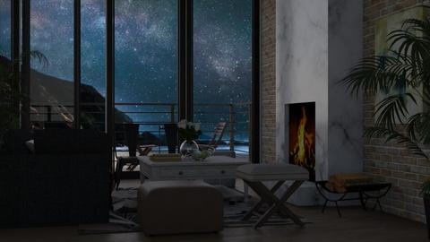 Night Sky - Modern - Living room  - by millerfam
