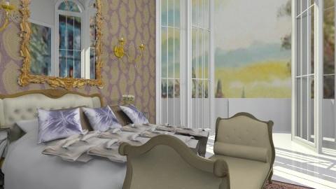 golden - Vintage - Bedroom  - by MacyRorowland