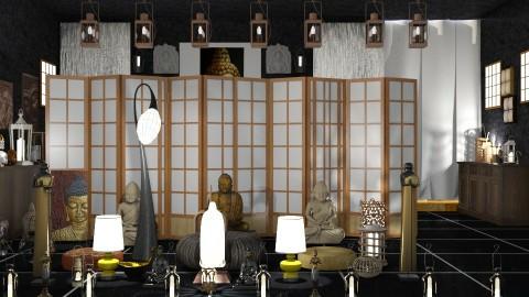 Buddha Room  - Modern - by InteriorDesigner111