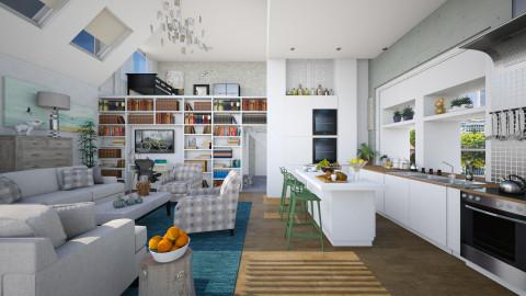 Open Kitchen - Kitchen  - by milyca8