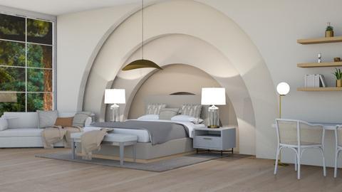 N A T U R A L  - Modern - Bedroom  - by BN12