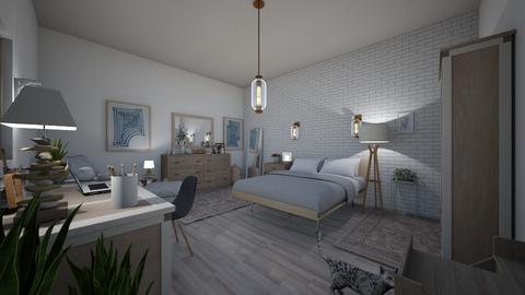 bed - Modern - Bedroom  - by PeculiarLeah