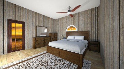 Country Style Bedroom - Country - Bedroom  - by Love2Create