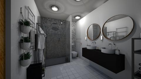 kupelna  itv - Bathroom - by Kristina Bacinska