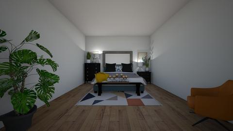 bedroom design  - by LaurenGoldsmith
