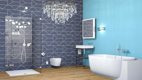Chill Bathroom - Modern - Bathroom  - by Seaotter22