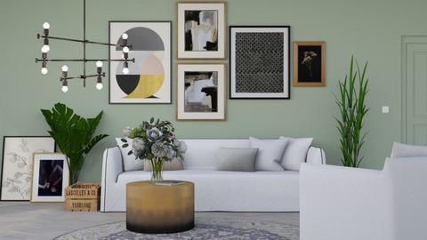 2nd september 2020 - Modern - Living room  - by HenkRetro1960