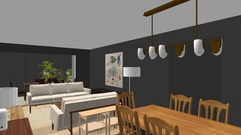 MBJ plantaA - Living room  - by bpgarqs