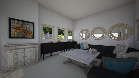 Sala  - Living room  - by LauraPCamilo2022