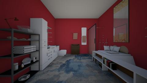 A - Bathroom  - by elivania