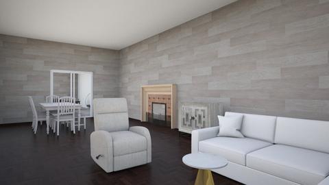Sala y comedor - Modern - Living room  - by Santiago valero