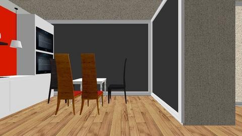 supcio - Living room - by marysiawiszniowska