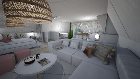LRW  nieuw 2 - Living room  - by valerietegenbos