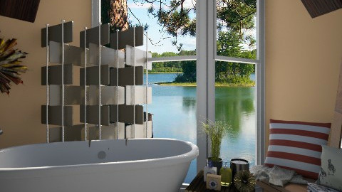 A Corner of Paradise  - Eclectic - Bathroom  - by idesine