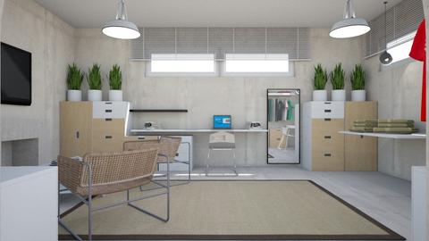 For Laurmull  Ikea - Eclectic - Office  - by chania