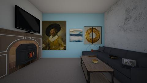 art living room1 - Living room - by puf