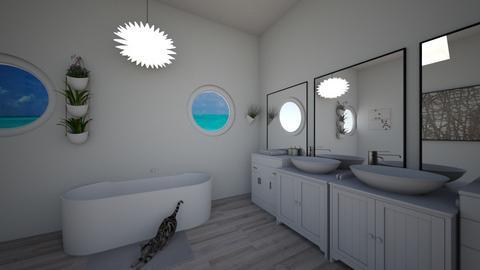 Beach bathroom uwu - Bathroom  - by csvb22