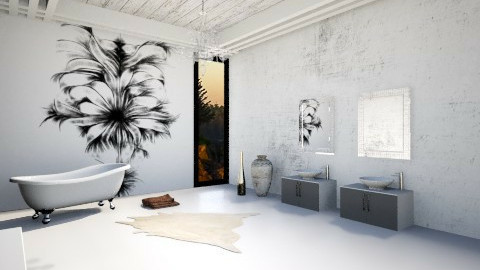 bathroom 2 - Glamour - Bathroom  - by Nourhaan Adel