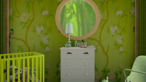 baby leaf - Glamour - Kids room  - by donella