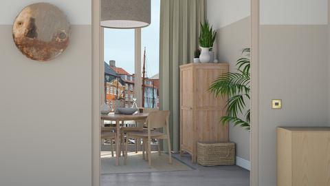 Beige Diningroom - Minimal - Dining room  - by HenkRetro1960