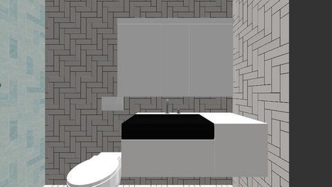 TL bathroom - Bathroom  - by TinyFishDesign