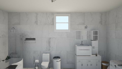 bathroom - Vintage - Bathroom - by kimiia Sadeghi