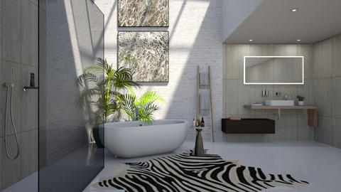 UJB - Bathroom  - by rickglassinteriors