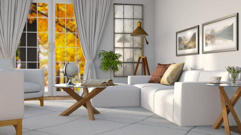 Spring White - Living room - by Its_Liz