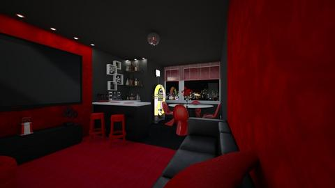 House Bar - Living room - by creato
