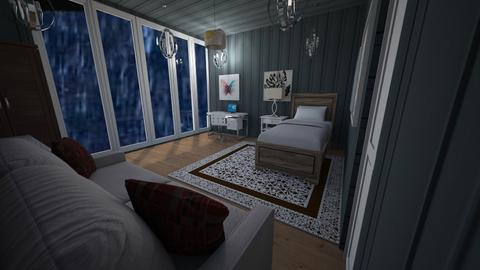 Stormy Weather Dorm - Bedroom  - by Eli_Anna
