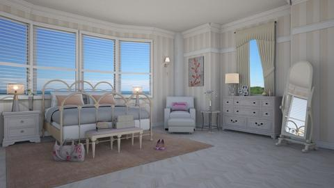 Emily Thorne - Eclectic - Bedroom - by Elenny