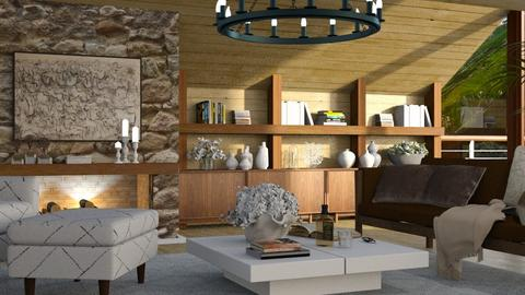 lake_contest_CCorreia - Rustic - Living room  - by Claudia Correia