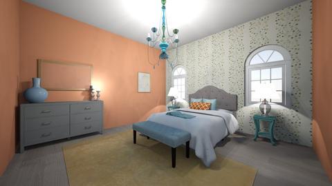 Color Challenge Room - Bedroom  - by Hallie_Reese