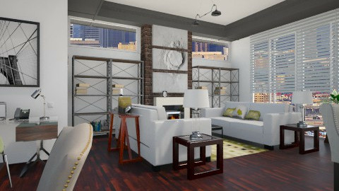 Industrial Symetry - Eclectic - Living room  - by PomBom