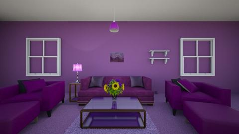 yellow living room  - Living room  - by haaD3585
