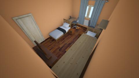 Nagyszoba #1 - Bedroom - by Blueflamingo
