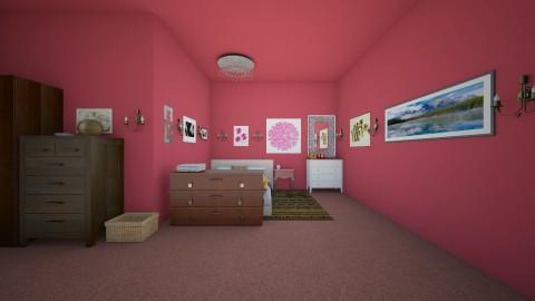 Tropical Fruit Bdrm - Modern - Bedroom - by Elf_prettyballetgirl16
