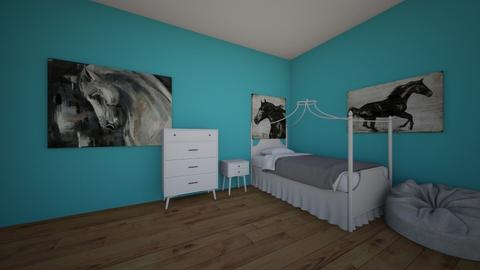 horse room - Kids room  - by horseeve