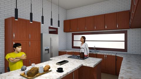 2 - Kitchen  - by Mahla Ahmadi79