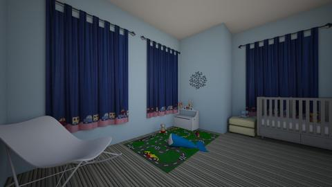 Baby nursery - Kids room - by sashathorupblue