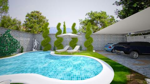 FRIDA Design 24 Pool - Modern - Garden - by M I C H E L L E