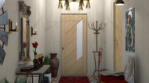 Welcoming Hallway - by nat mi