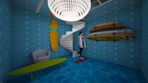 Surf Room - by EmmaAwesomeness