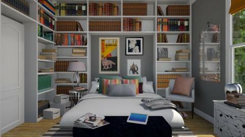 Hazel Bedroom - Eclectic - Bedroom  - by spetes30