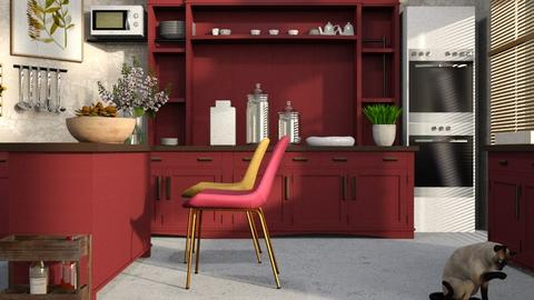 New_Kitchen - Kitchen  - by ZuzanaDesign