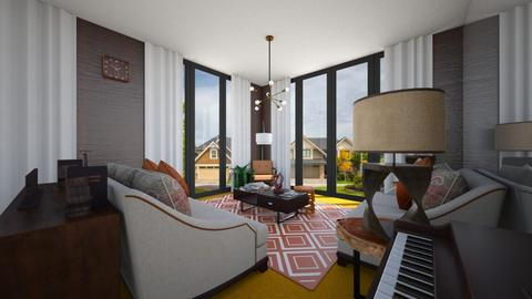 Wood Walls - Living room  - by SammyJPili