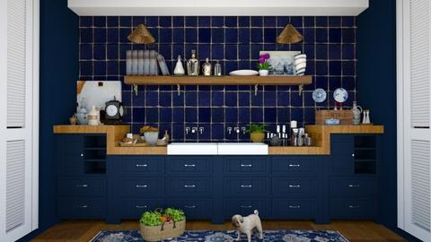 blu - Kitchen  - by Charipis home