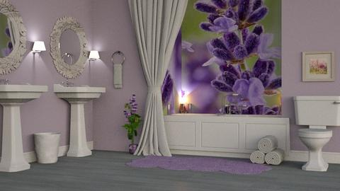 Lavender Bathroom - Bathroom  - by AnxhelaN