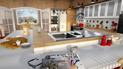 farmhouse kitchen - Kitchen  - by mehl