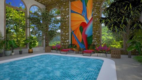 Indoor pool - by rebsrebsmmg
